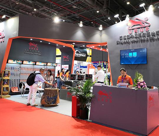 我们在2019上海国际五金展览会上